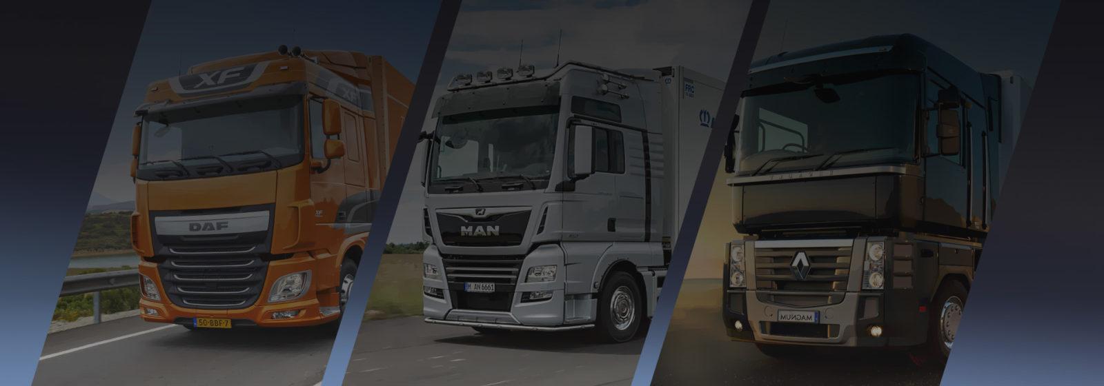 Разборка грузовых автомобилей </br>DAF, MAN, RENAULT